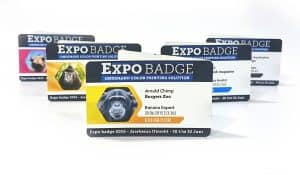 EasyBadge 2.0 full color coupon of ticket