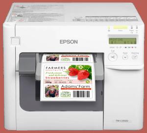Expobadge printer C3500